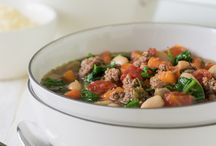 Soup and Chili / Warm up with these DELICIOUS recipes!