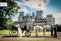 Winton Castle Weddings / Romantic Weddings at Winton Castle