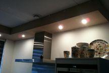 Licht koof keuken