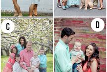 Family picture ideas / by Alyssa Hall