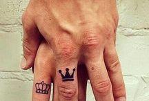 His queen, hur king