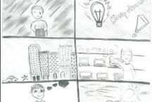 """Konkurs rysunkowy / Prace nadesłane na konkurs rysunkowy Komputronik.  Temat: Komputronik: Technologie Jutra"""" - przedstaw swoją wizję tego wyrażenia w postaci kreatywnego rysunku lub komiksu"""