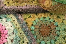knitting and crocheted