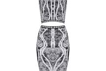 Gorgeous Bodycon Bandage Dresses and Skirt Sets