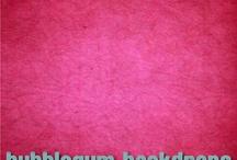 Bubblegum Backdrops I Want
