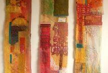 Artquilts, textile arts