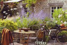 ogródek taras