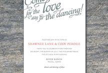 Wedding Invitations by Beleza Design / Printable Wedding Invitation Sets on Etsy