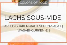 Lachs/ Tuna / Sterne