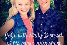 Jo jo and matty b