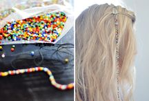 Beads In Her Hair
