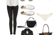 Travel outfit and about travelling