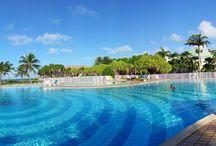 Domaine du lagon / Location de vacances haut de gamme en bord de mer avec piscine à Saint-François Guadeloupe