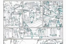 Comic pages