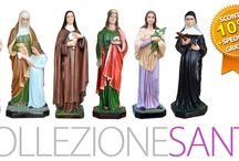 """OGNISSANTI 2014 - Sante / in occasione del giorno di tutti i Santi, fino al 01 novembre SCONTO DEL 10% + SPEDIZIONE GRATUITA su tutta la collezione statue dedicate alle Sante. Digitate OGNISSANTI2014 nella casella """"buono sconto"""" che troverete nel modulo di conferma d'ordine. Visitate la COLLEZIONE COMPLETA cliccando sul seguente link  http://www.ovunqueproteggimi.com/collezione-statue/sante/"""