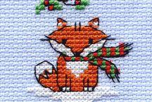 cross stitch Xmas