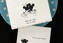 Disney Wedding Invitations / Tale as old as time...