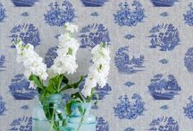 Willow + Denim Style / Who doesn't love Denim? Mixed with a classic willow pattern for a warm loving home.....