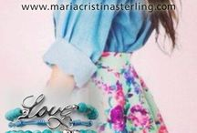 """Your look with Maria Cristina Sterling Jewels / Maria Cristina Sterling Fashion Jewels Made in Tuscany """"How to use Maria Cristina Sterling Jewels."""""""