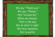 pre-school: manners