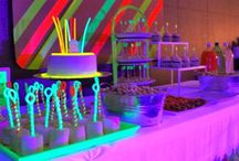Bar Mitzvah - Glow and Neon!