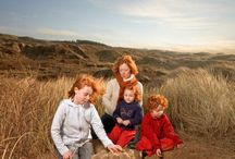 Red / inspireren; rood haar, verschillende leeftijden