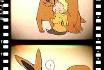 Naruto i Kurama