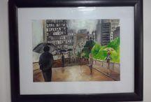 By Me / Minhas obras, Ilustrações e criações diversas.