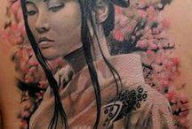 Geisha tatoeages