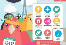 Calendrier Editorial AVRIL / Poisson d'Avril, Journée Mondiale de l'Art, St Parfait, Earth Day, Foire de Paris, ... Préparez votre calendrier éditorial d'Avril en vous inspirant des astuces & exemples sélectionnés par la team So Happy Web !!