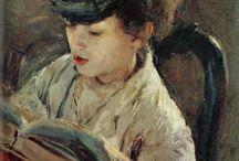 Readers In Art Paintings