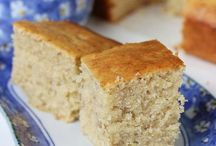 cakes / I baked this banana walnut cake, it's come awesome