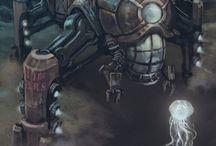 Steampunk and Kibyrpunk