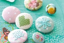 fabric buttons ideas