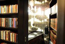 boekenkast,  verborgen kamers