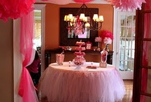 Round Table Decorations for Kid Parties / Decorating a round table, party ideas