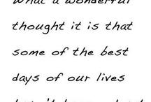 Wonderful Words / Words that warm my heart