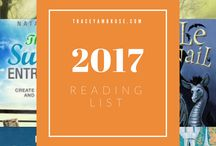 My 2017 Reading List / I read science fiction, fantasy, tech geekery, a touch of personal growth, life hacking and just a pinch of parenting.  Books include those I've read and those I plan to read.