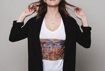 Tee shirt photo / Mode femme, tee-shirt photo, petite série.