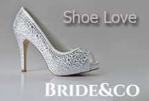 Shoe Love / Give a girl the right shoes, and she can conquer the world! ~ Marilyn Monroe   View Bride&co's range of gorgeous shoes for weddings and special occassions