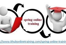 Best Spring online training course at India