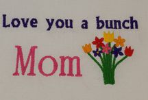 Mother's Day digital embroidery designs