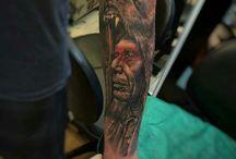 tatuagens / arte no corpo com saúde