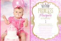 Girl Birthday Party Invitations / All kinds of Birthday invitations and Printables for a girl birthday party
