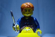 legos.  minifigs.  smile.   / by Joyce McKinnis