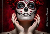 Dia De Los Muertos / I can say enough about Dia de Los Muertos except that I'm fascinated by the costumes, traditions and the tales of it all. Enjoy.  / by Sandra Nunez-Pinedo