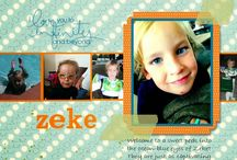 """My Digital Software & Scrapbooking by Bev / Bev's scrapbook pages created with Stampin' Up!'s """"My Digital Software""""!"""