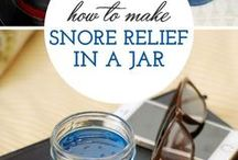 Snore relieving remedies