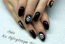 Halloween nails - paznokcie na halloween