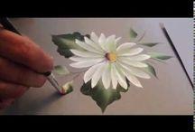 videos de pintura en tela